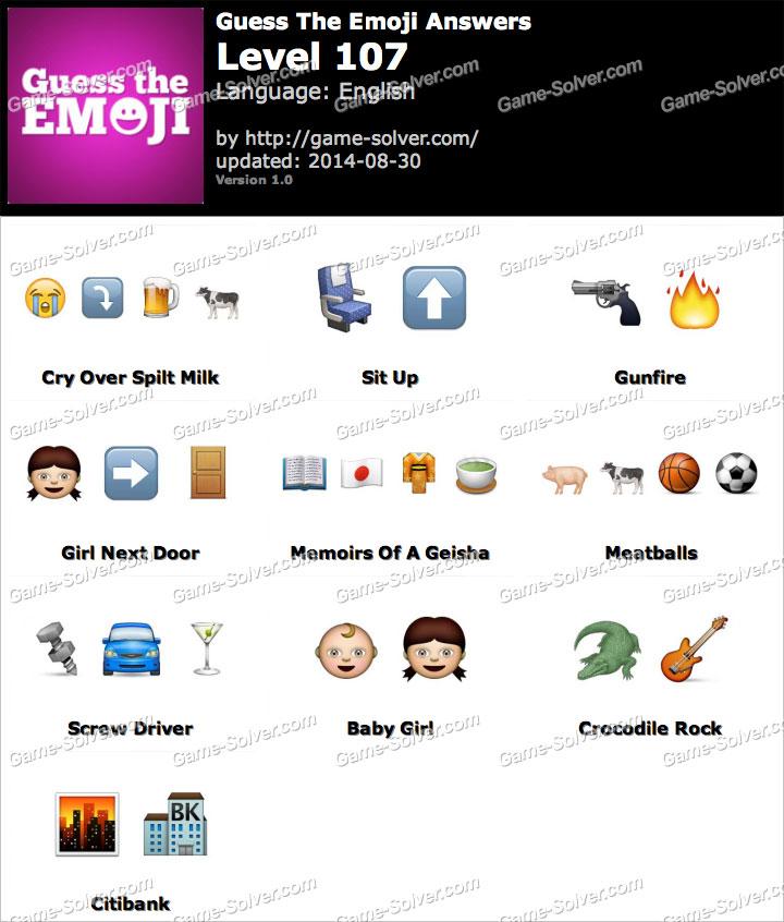 guess the emoji level 13 answers all level emoji auto. Black Bedroom Furniture Sets. Home Design Ideas