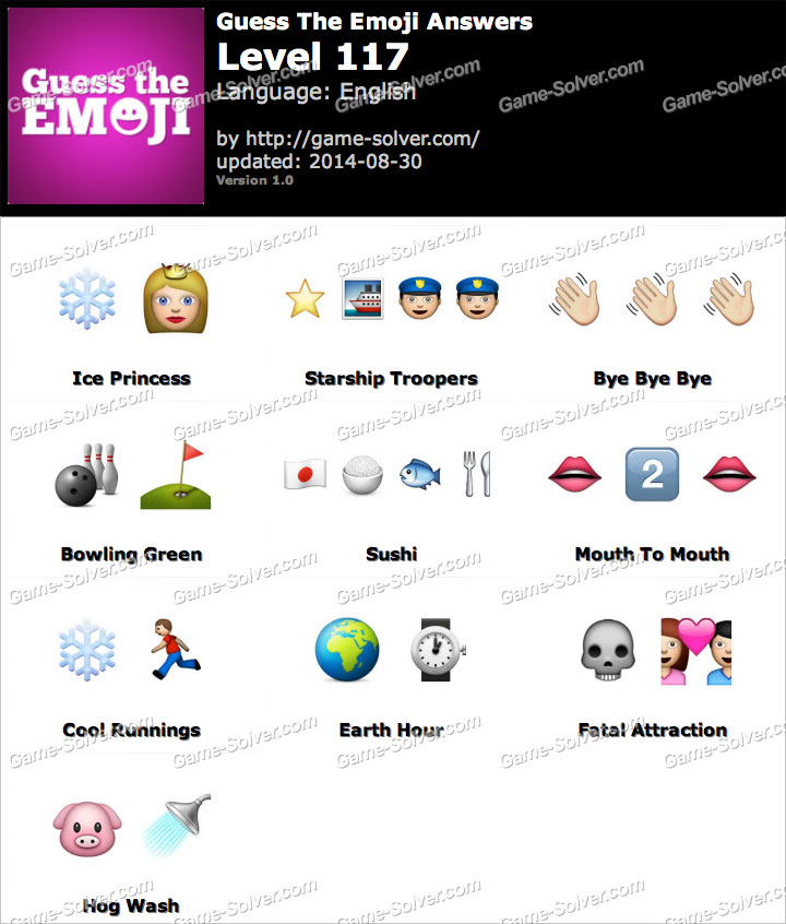 Guess The Emoji Sunbird Wwwpicsbudcom