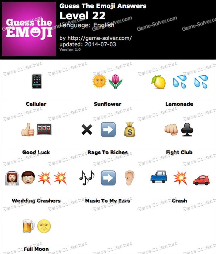 guess the emoji level 22 answers wwwpixsharkcom