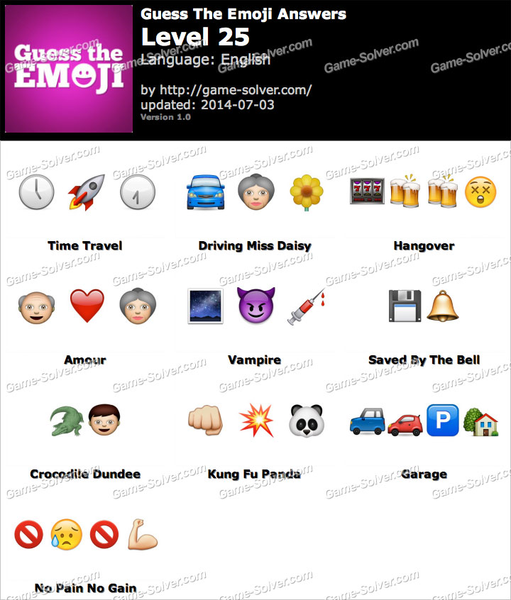 Incredible Guess the Emoji Level 11 720 x 846 · 91 kB · jpeg
