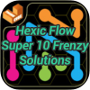 Hexic Flow Super 10 Frenzy Solutions