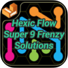 Hexic Flow Super 9 Frenzy Solutions