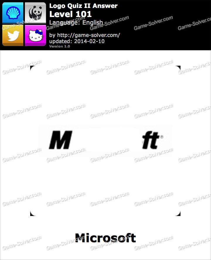 logo quiz ii level 101 game solver