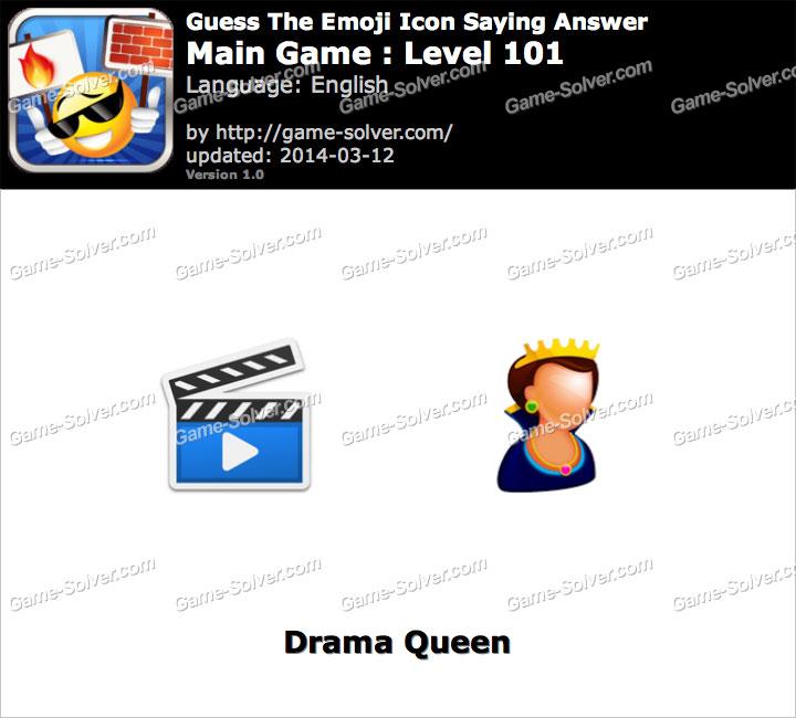 Emoji Icon Main Game Level 101