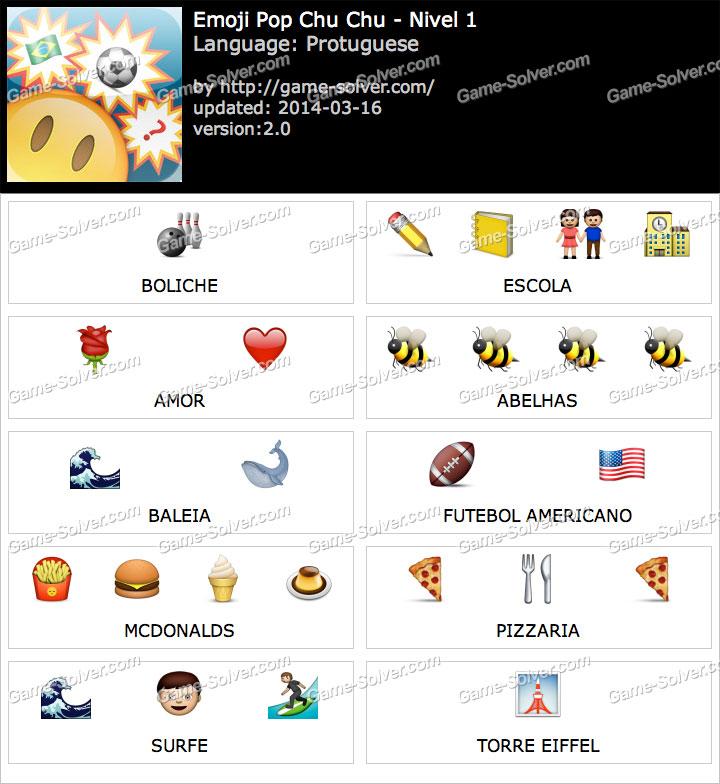 Emoji ChuChu Nivel 1