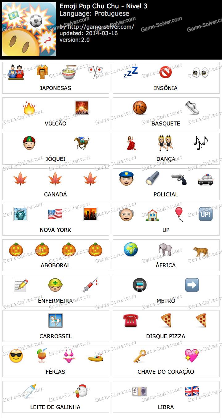 Emoji ChuChu Nivel 3