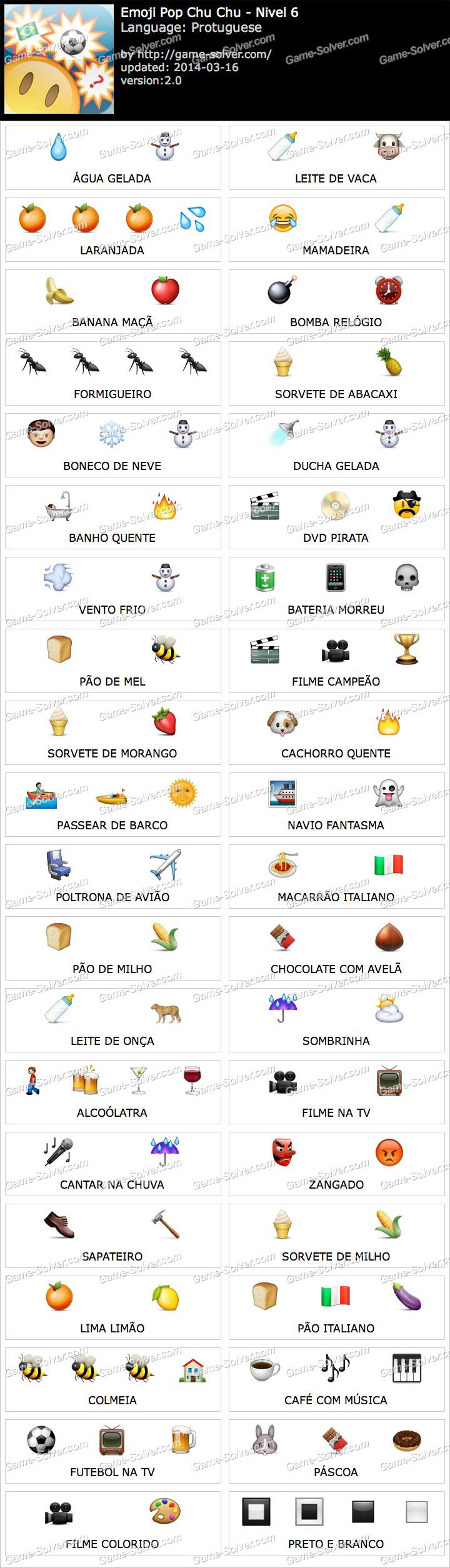 Emoji ChuChu Nivel 6