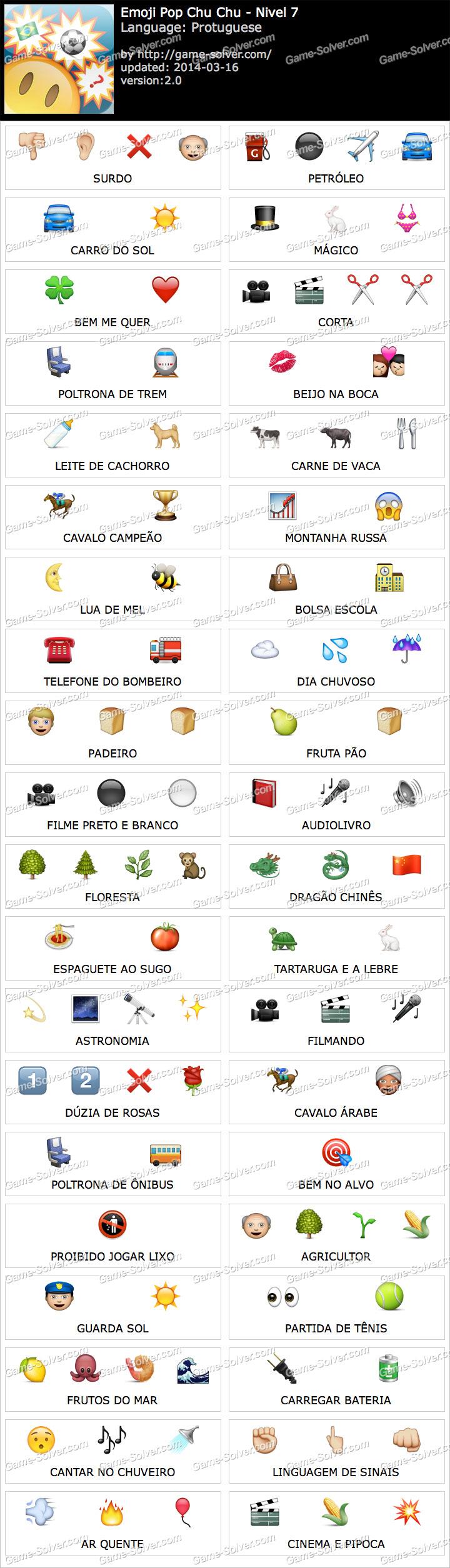 Emoji ChuChu Nivel 7