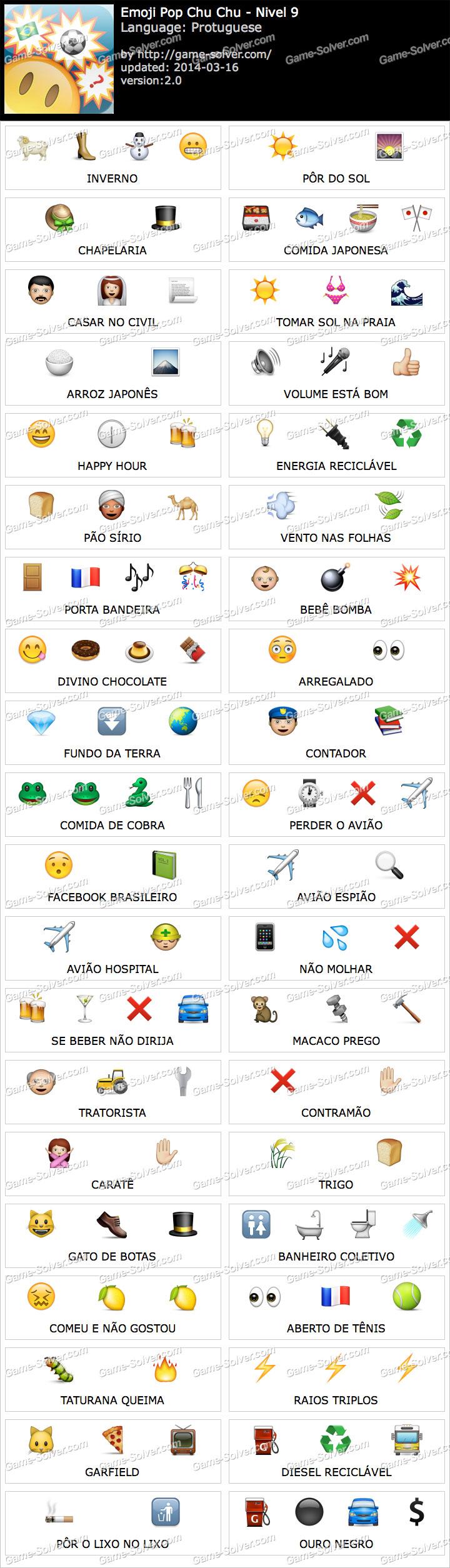 Emoji ChuChu Nivel 9