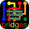 Flow Bridges 11x11 Mania Solutions