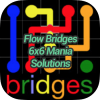 Flow Bridges 6x6 Mania Solutions