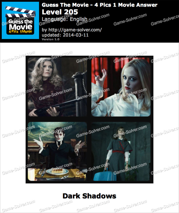 guess the movie 4 pics 1 movie level 205