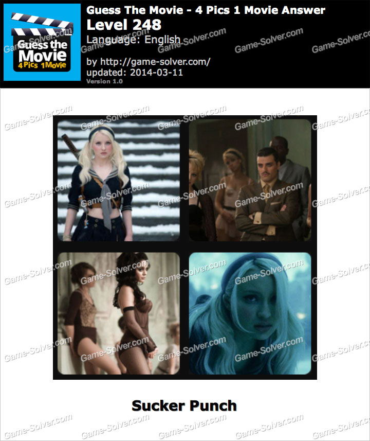 Guess The Movie 4 Pics 1 Movie Level 248