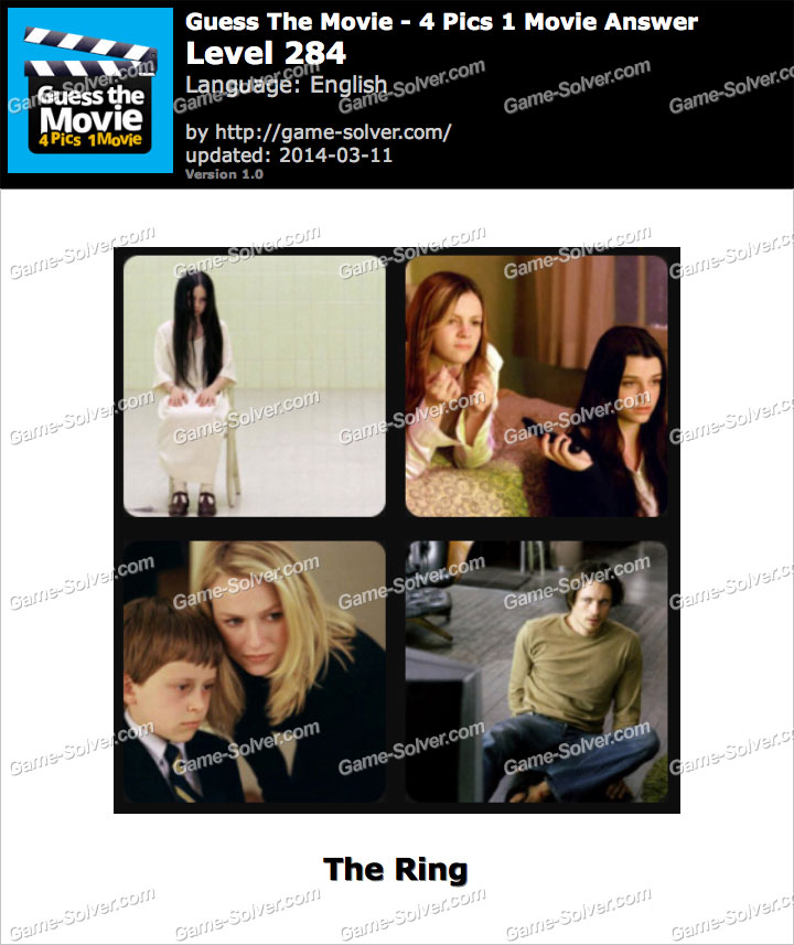 Guess The Movie 4 Pics 1 Movie Level 284