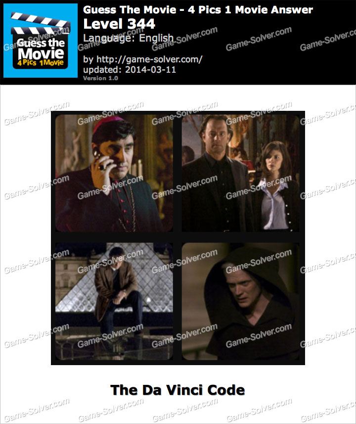 Guess The Movie 4 Pics 1 Movie Level 344