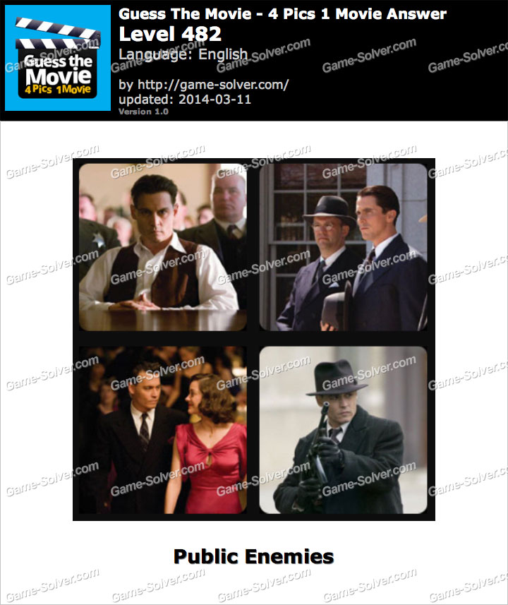 Guess The Movie 4 Pics 1 Movie Level 482