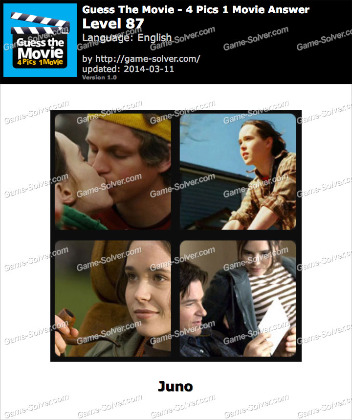Guess The Movie 4 Pics 1 Movie Level 87