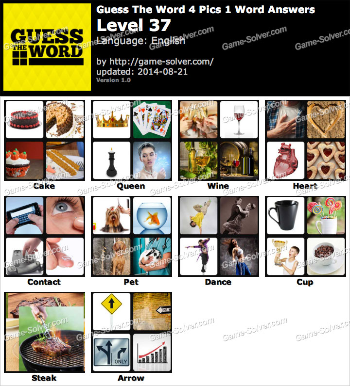 guess the word 4 pics 1 word level 37 game solver. Black Bedroom Furniture Sets. Home Design Ideas