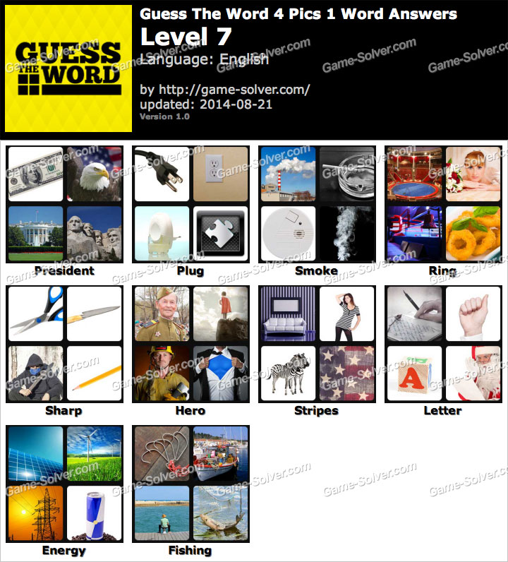 pics 1 word 7 letters solver all solved 4 pics 1 word 7 letters solver walkthrough cheats 4