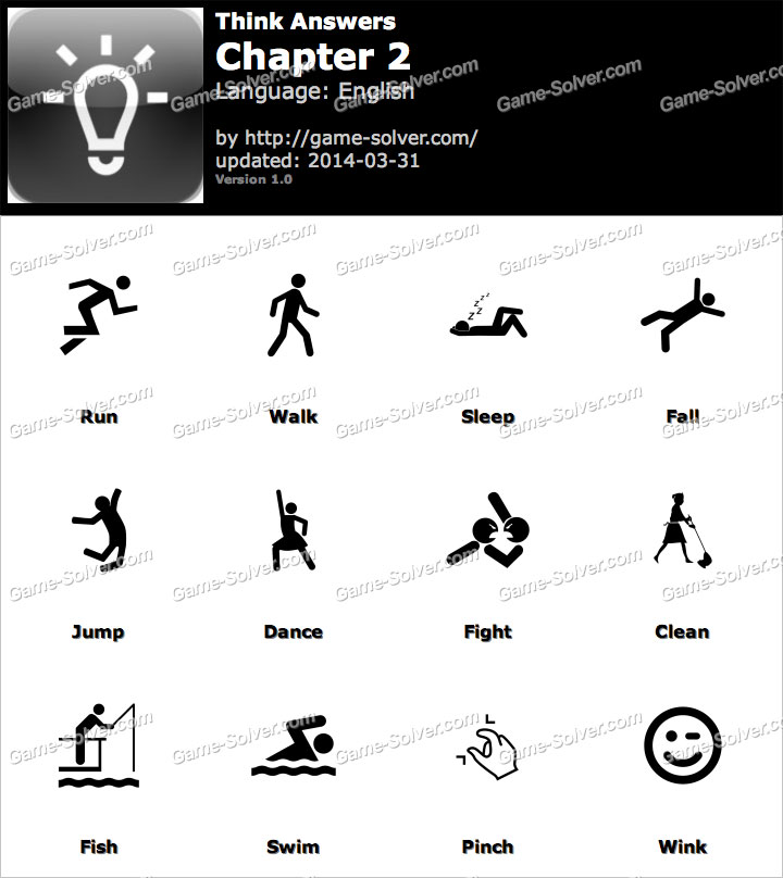 Think Chapter 2 - Game Solver