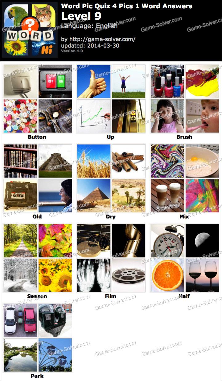 word pic quiz 4 pics 1 word level 9 game solver. Black Bedroom Furniture Sets. Home Design Ideas