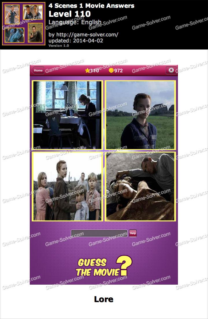 Scenes 1 Movie Level 110