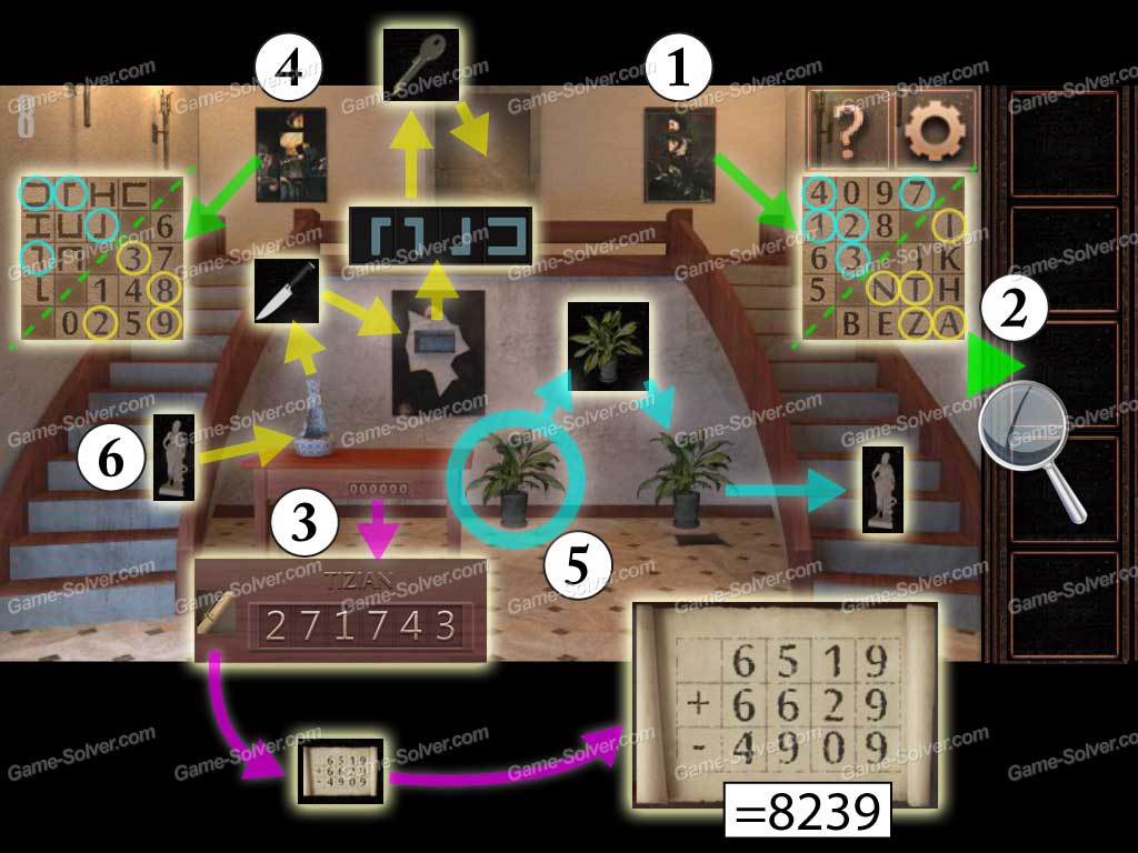 Escape from the room with the device walkthrough solution cheats - Can You Escape Tower Level 8
