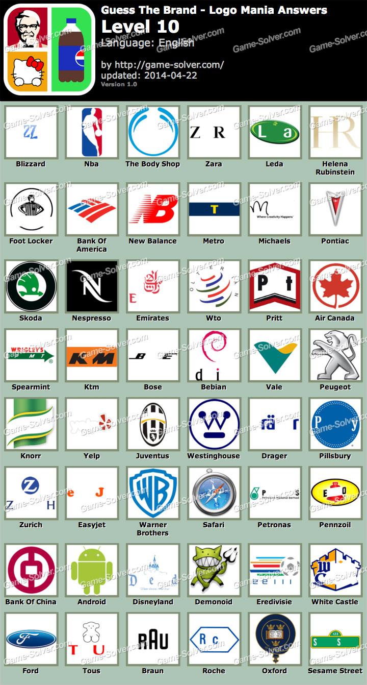 Logo Mania Cheats Level 11 - 12.000 vector logos