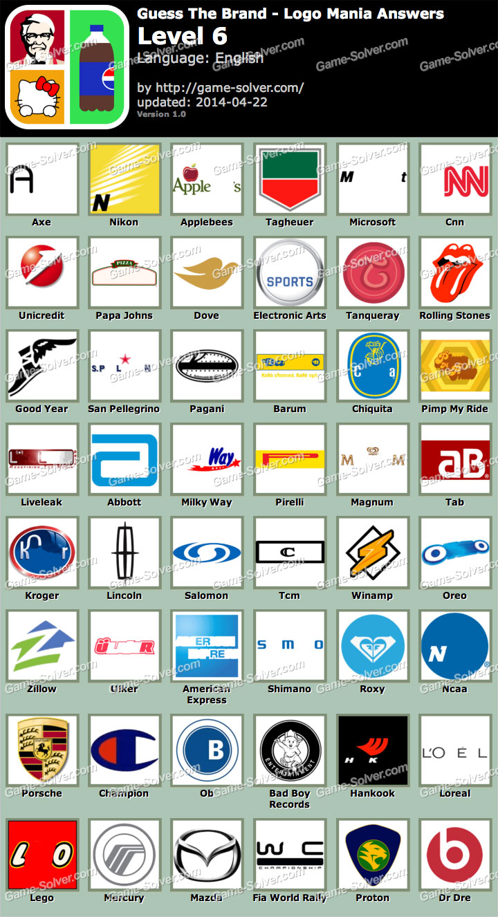 logo quiz answers all levels answers