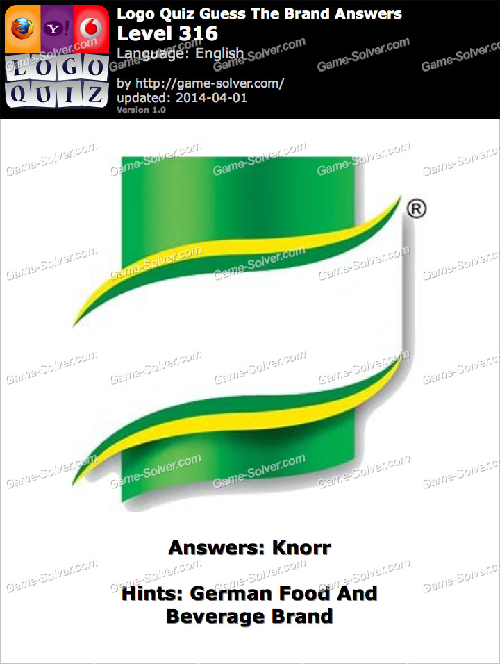 Logo quiz fashion answers sports brand logos quiz logo quiz - German Food And Beverage Brand Game Solver