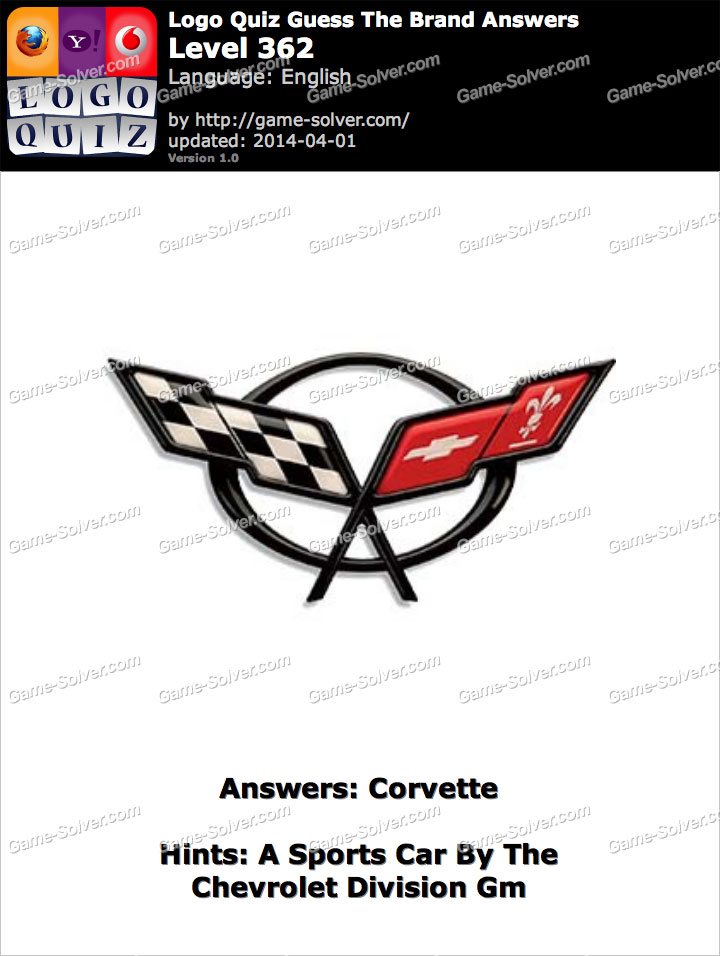 A Sports Car By The Chevrolet Division Gm - Game Solver