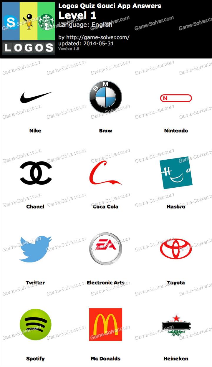 Logos Quiz Gouci App Answers Game Solver