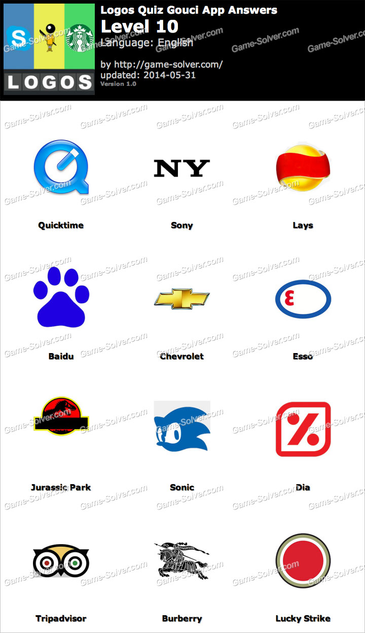 Logo quiz answers by bubble level 17