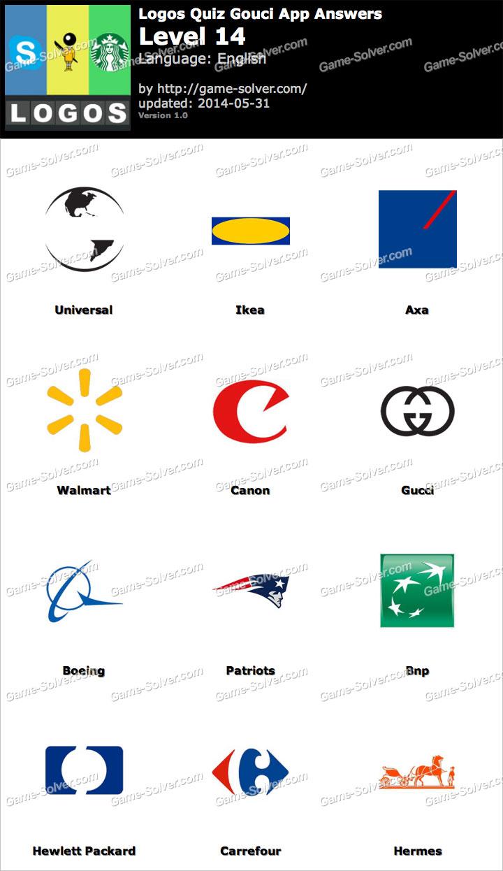 logos quiz gouci app level 14 game solver