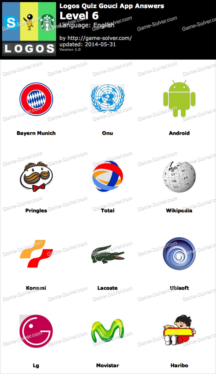 logo quiz game niveau 6