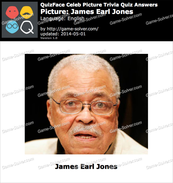 QuizFace Level James Earl Jones