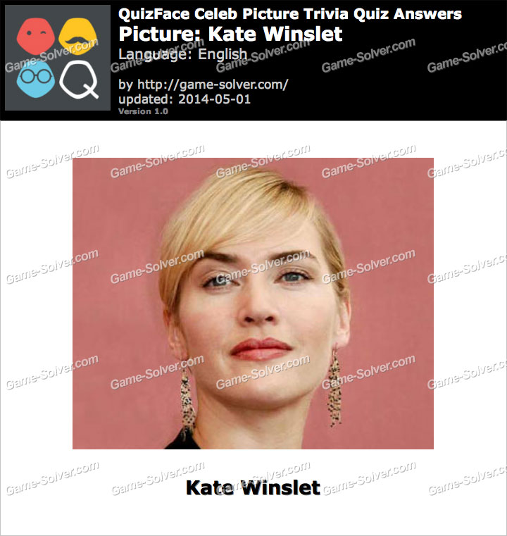 QuizFace Level Kate Winslet