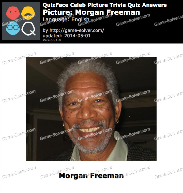 QuizFace Level Morgan Freeman