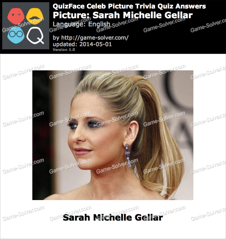 QuizFace Level Sarah Michelle Gellar