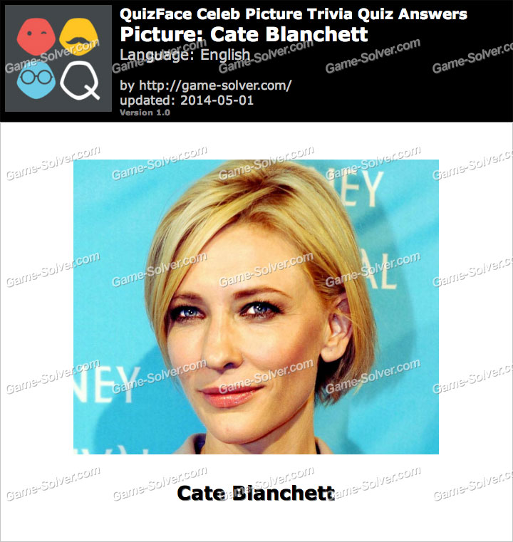 QuizFace Level Cate Blanchett