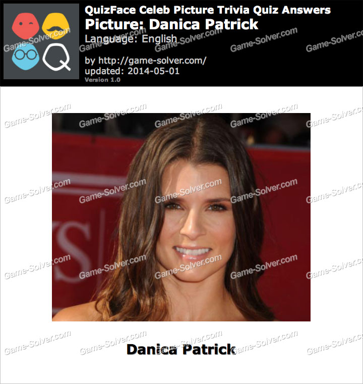 QuizFace Level Danica Patrick