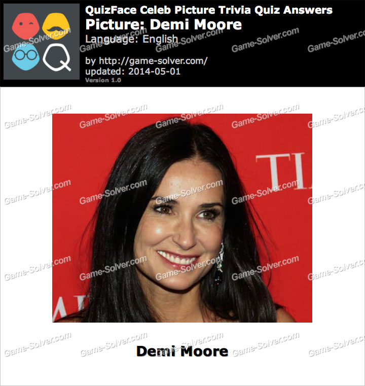 QuizFace Level Demi Moore