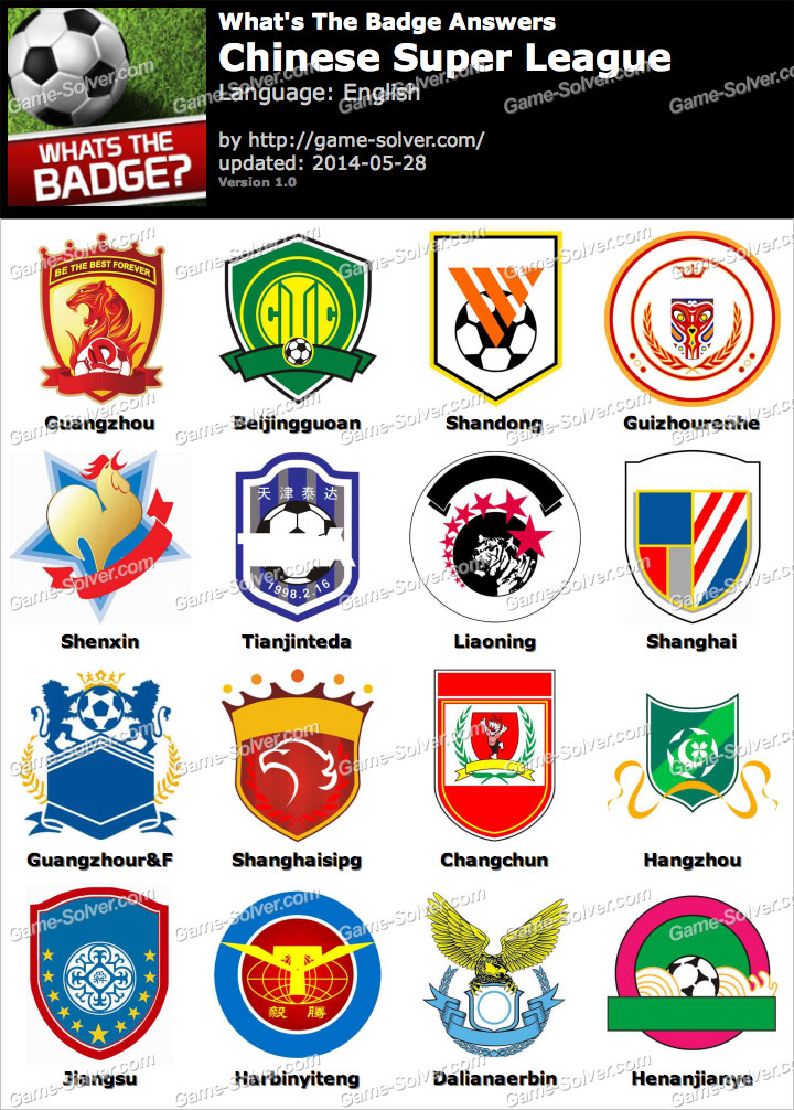 Whats The Best Makeup For A Drag Queen: Whats The Badge Chinese Super League Answers