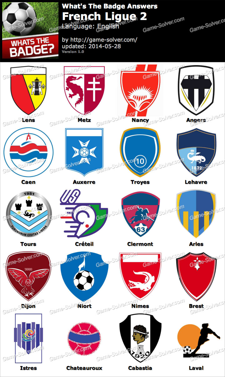 french ligue 2 teams