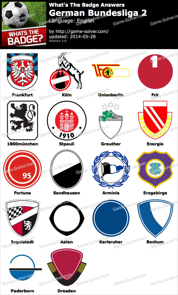Whats The Best Makeup For A Drag Queen: Whats The Badge German Bundesliga 2 Answers