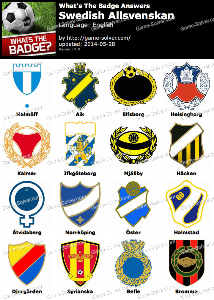 Whats The Best Makeup For A Drag Queen: Whats The Badge Swedish Allsvenskan Answers