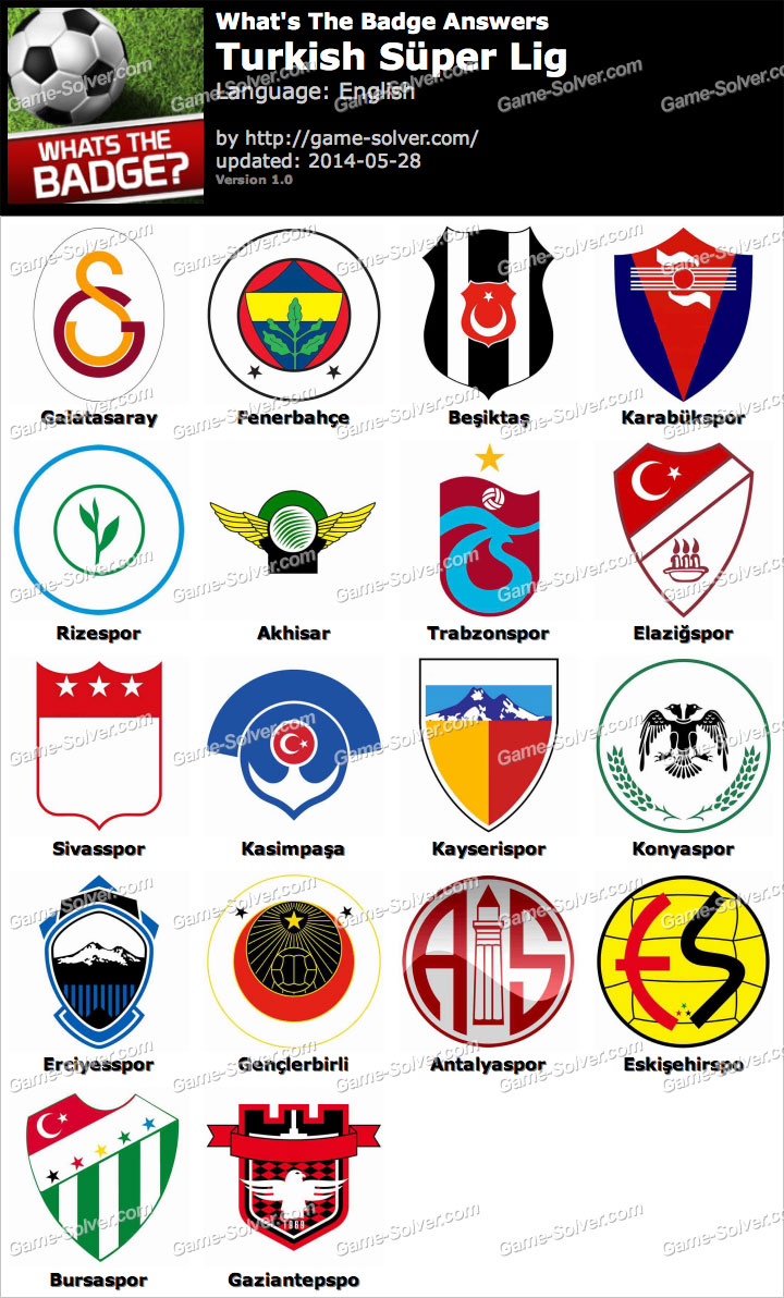 481e254d Whats The Badge Turkish Süper Lig Answers