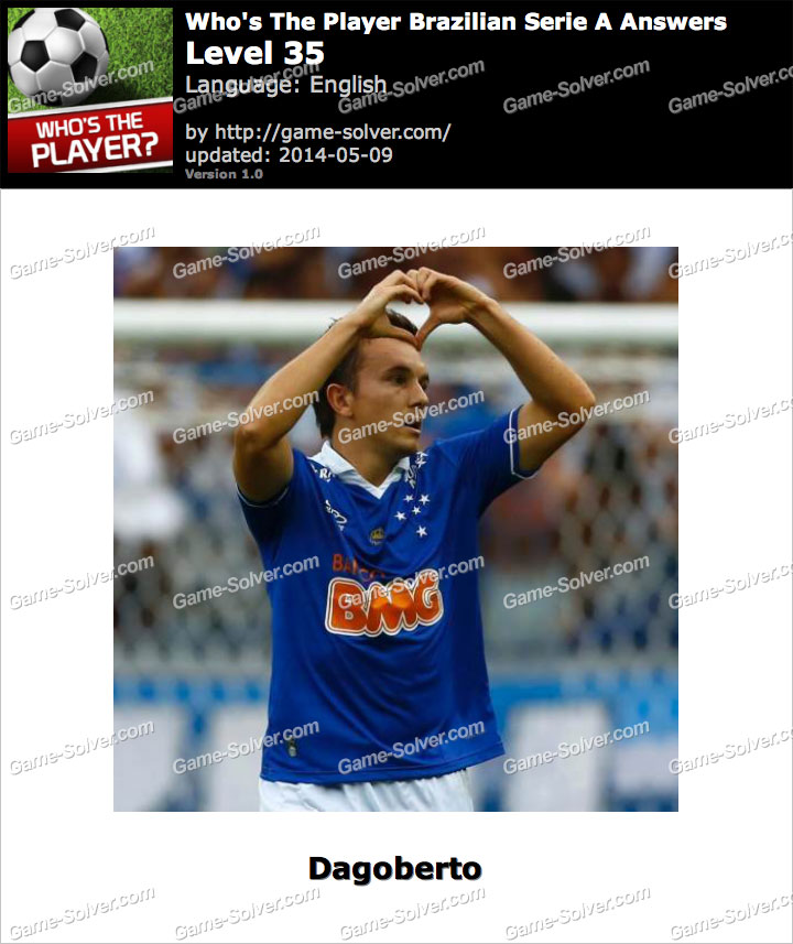Who's The Player Brazilian Serie A Level 35