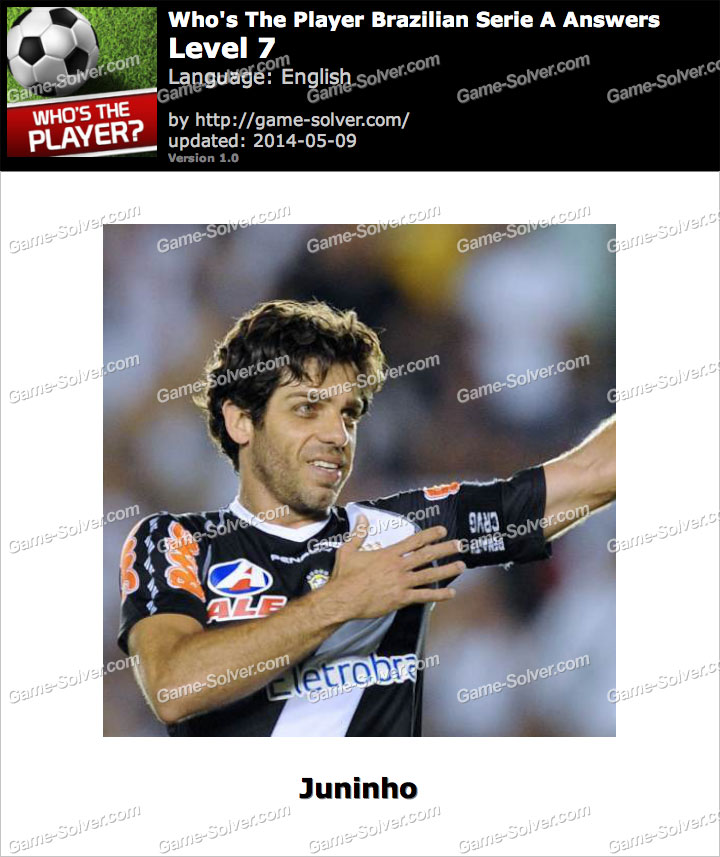 Who's The Player Brazilian Serie A Level 7