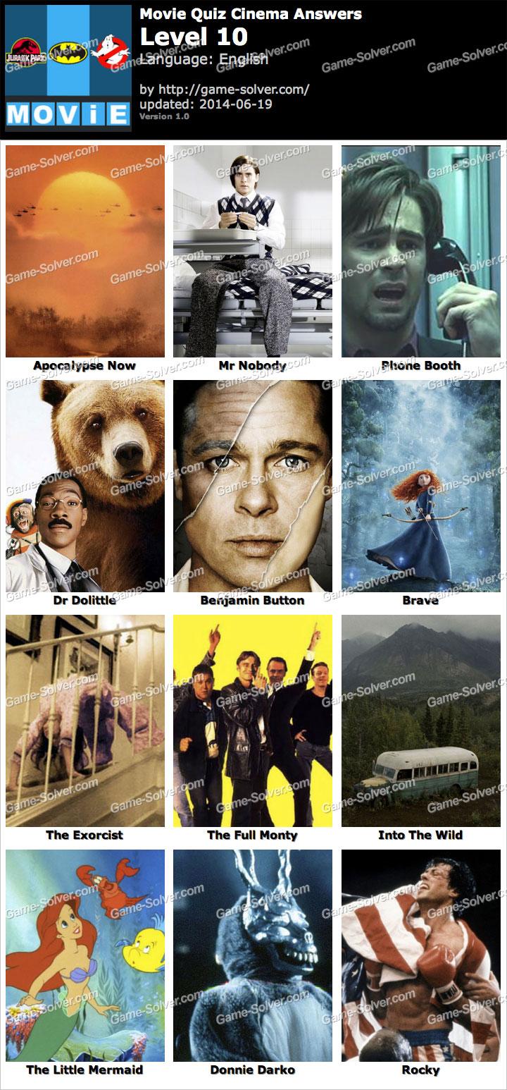 Movie Quiz Cinema Leve...